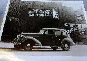 1935 Pontiac after Murphy Bros.